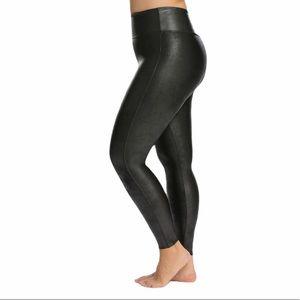 Spanx Faux Leather Leggings Black Size 3X